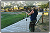 Day #1 August 13, 2010....Setting up the tripod.